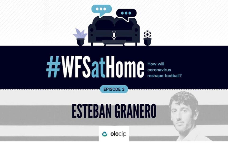#WFSatHome: Esteban Granero
